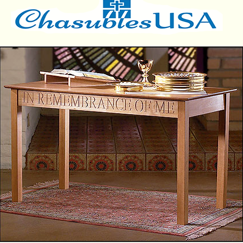 In Remembrance of Me Communion Table