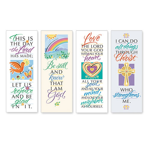 Famous Verse Series X-Stand Banners - Set of 4