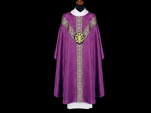 Gothic Chasuble Damask fabric 100% Viscose