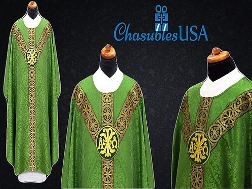 Chasuble Made of Damask fabric of 100% Viscose