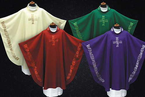 Elegant Chasuble Made of Lightweight fabrics