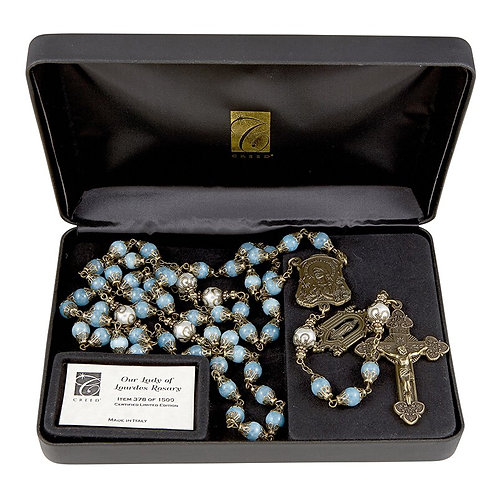 Creed® Our Lady of Lourdes Vintage Rosary