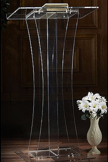 Acrylic Top Lectern by Robert Smith