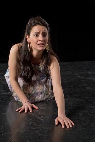Daniela Mutafova als Medea 4 (Foto M. Hi