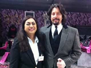 Meeting with design Guru, Laurence Llewelyn Bowen