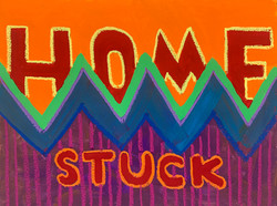 stuck home