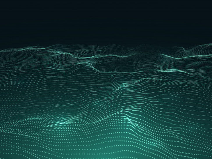 digital-background-with-wavy-surface-3d-