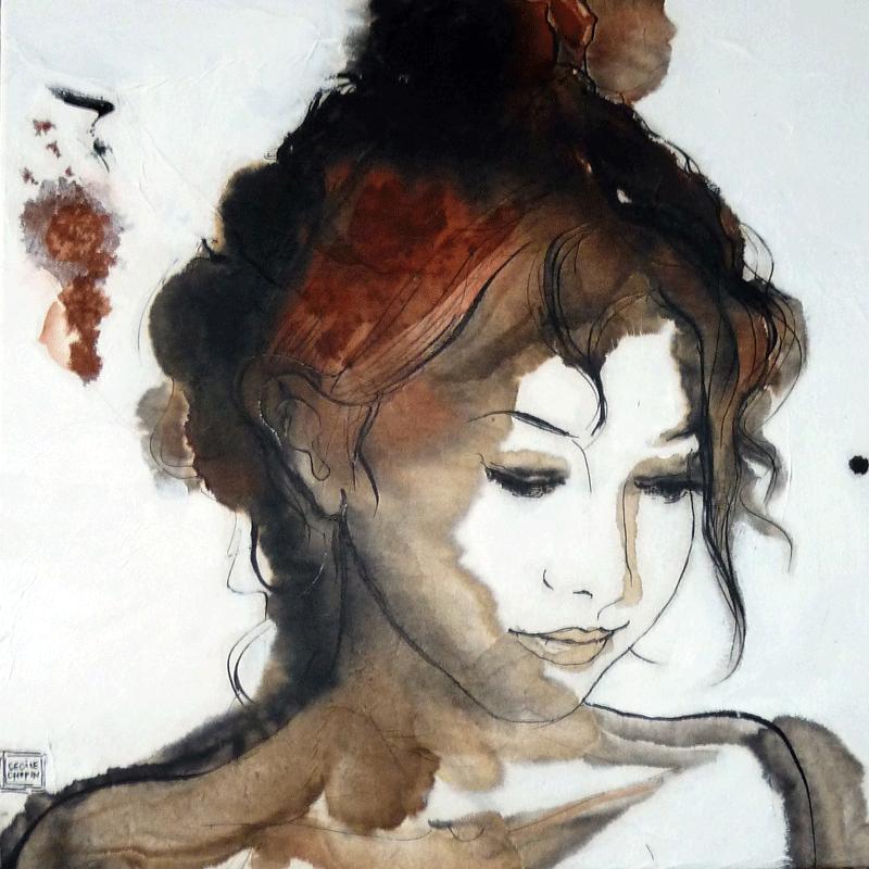 PORTRAIT-calligraphie-I coll privée