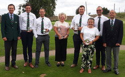 Kent Foursomes and CC Winners 2018