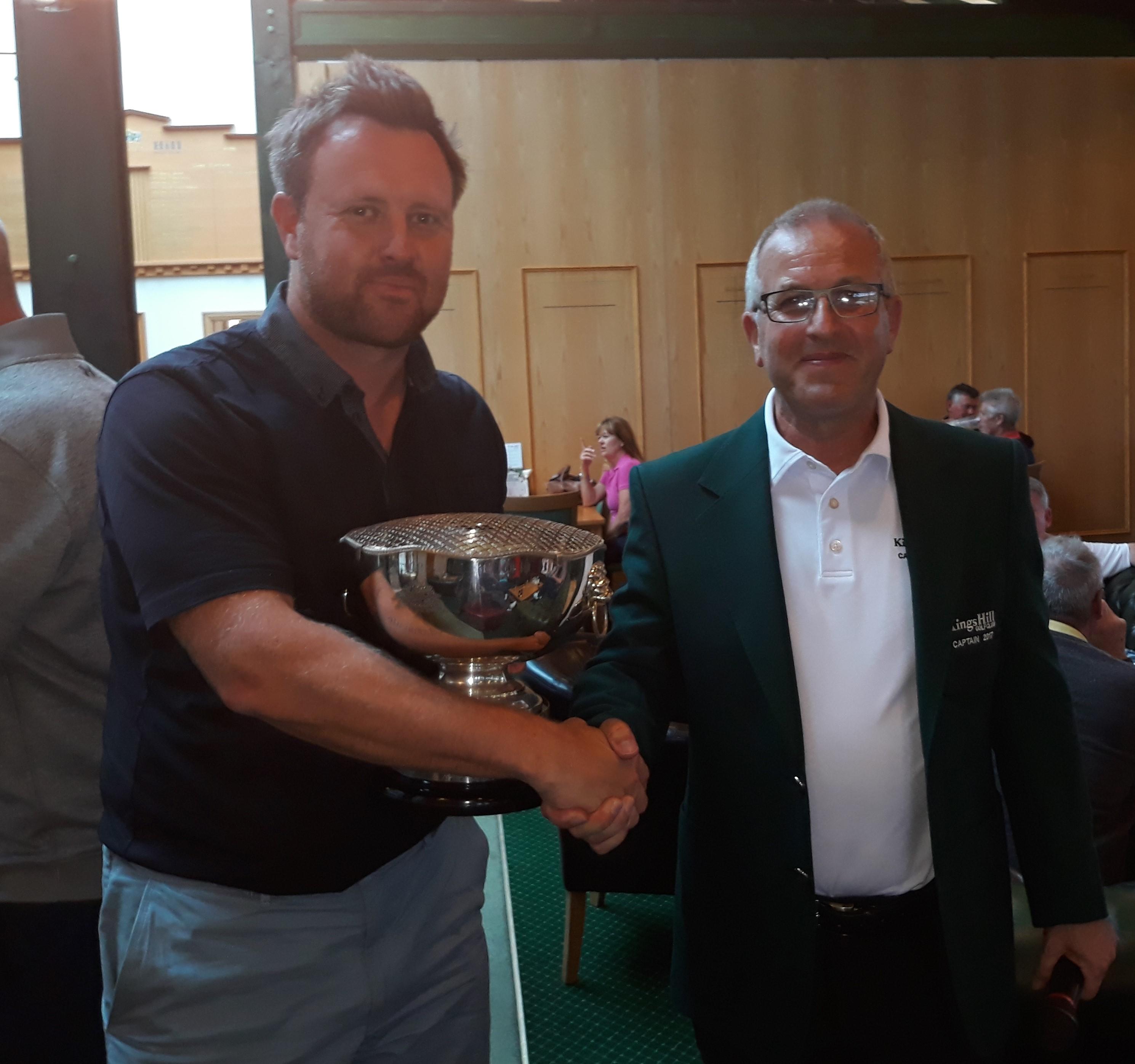 2017 Andersen winner Darren Gowler