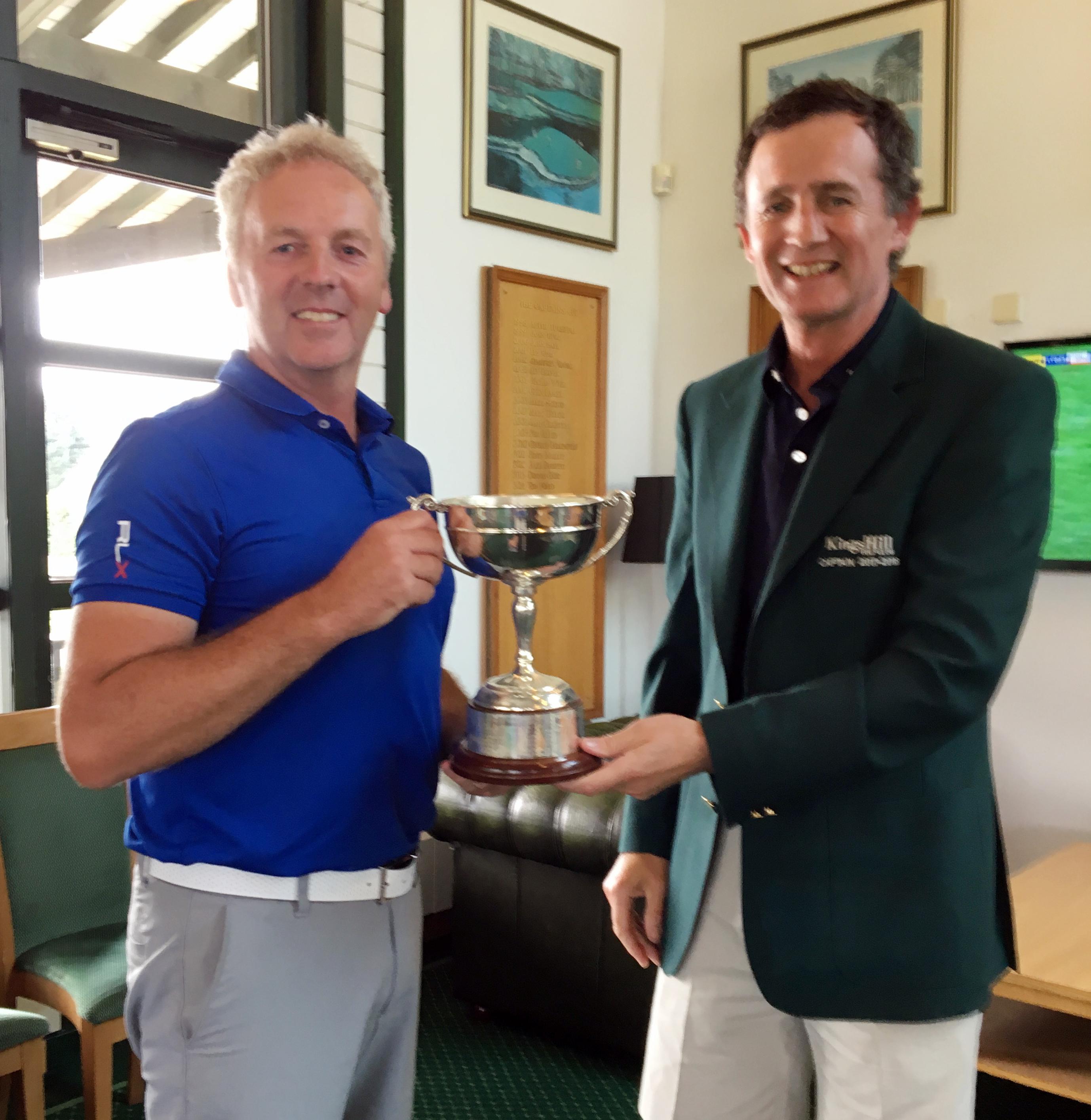 2018 Club Champion Richard Randall