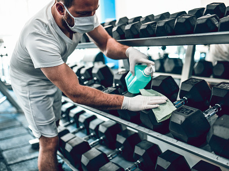 IHRSA Tells How Gym Operators Revamped Cleaning Protocols