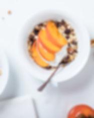 Pfirsich-Joghurt-Parfait