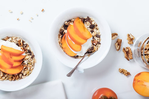 Peach Yogurt Parfait