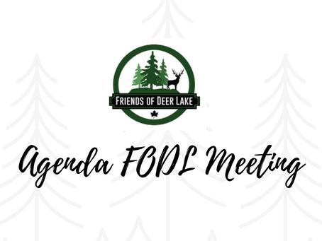 Agenda FODL Meeting