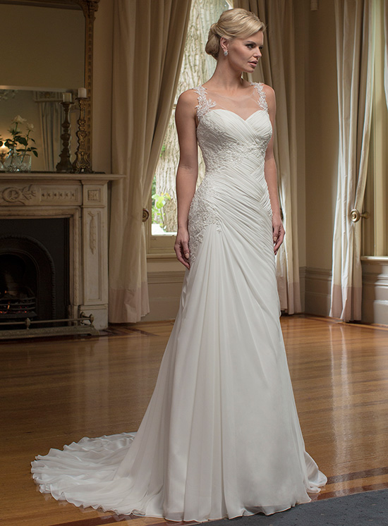 Christina Rossi Wedding Dress 4222M