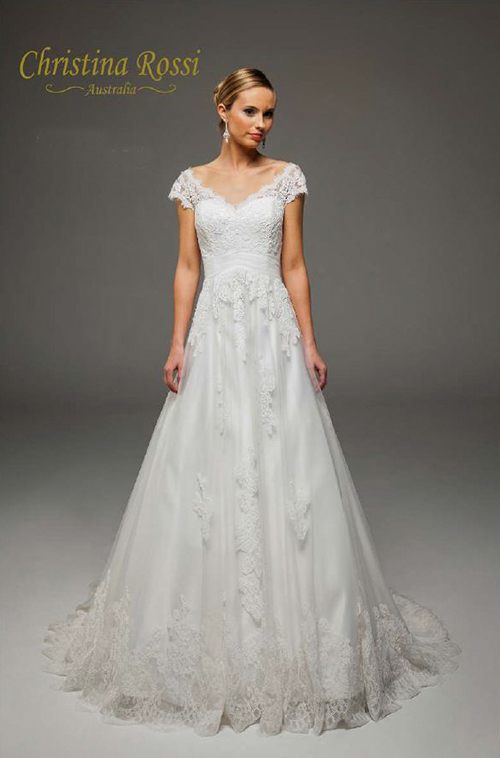 Christian Rossii Wedding Dress 4181F