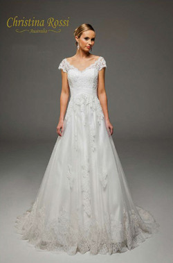 Christian Rossii Wedding Dress 4181F