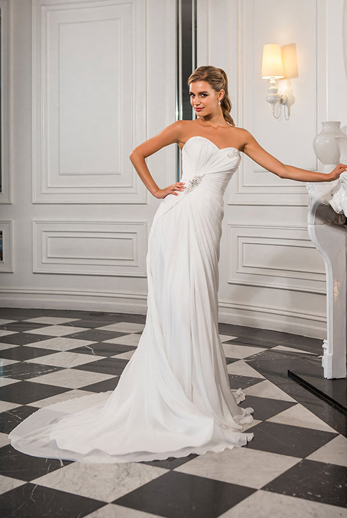 Christina Rossi Wedding Dress 4144m