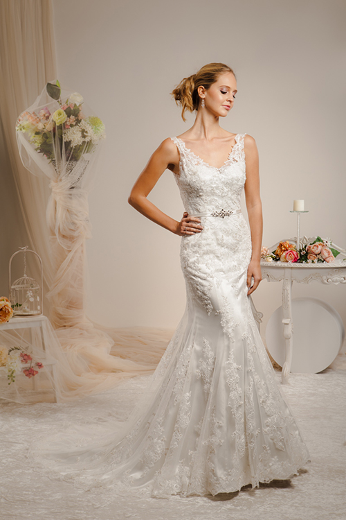 Christina Rossi Wedding Dress 6064F