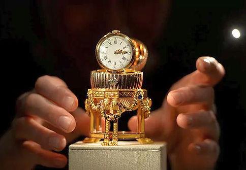 Faberge clock