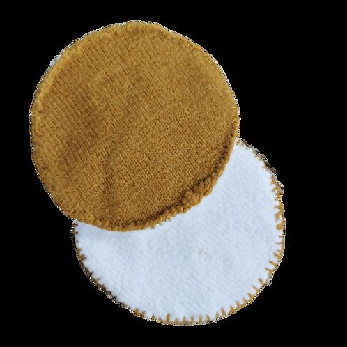Coussinets d'allaitement laine