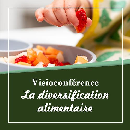Visioconférence diversification alimentaire