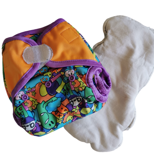 Couche Bumdiapers (2 inserts)
