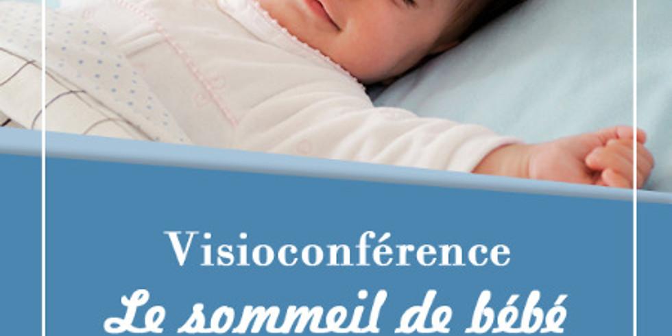 Visioconférence sommeil 0-5 ans