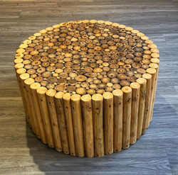 Root Sticks Side or Coffee Table - Top .