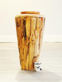 Wood Vase Tall - Scale.jpe