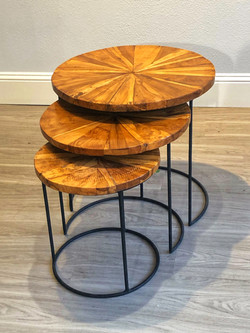 Nested Side Tables Smooth Top - Cascaded