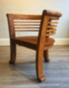 Charlotte Chair no Cushion - Angle.jpe