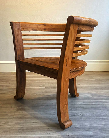 Charlotte Chair no Cushion - Angle.jpe