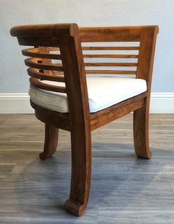 Charlotte Chair with Cushion - Angle.jpe
