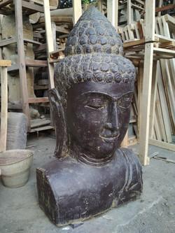 Buddha Bust - 80 cm - Antique5