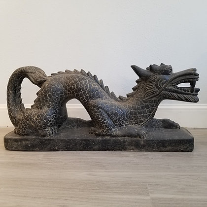Dragon - Casted Lava Stone- 3.25 ft