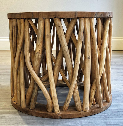 Teak Branch Side Table