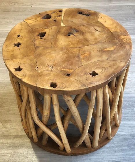 Root See-Through Side or Coffee Table -