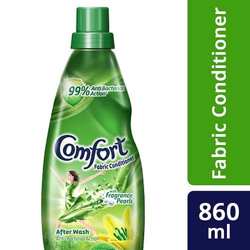 COMFORT AFTER WASH ANTI BACTERIAL FABRIC CONDITIONER 860ML