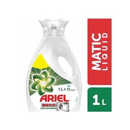 ARIEL MATIC DETERGENT LIQUID 1LTR
