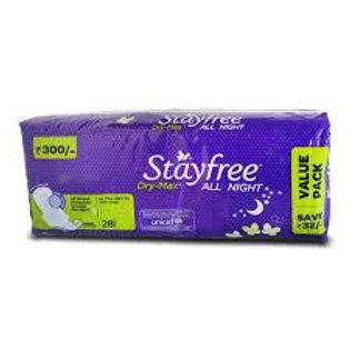 STAYFREE DRY MAX ULT THN ALL NIGHT 28N 1PC
