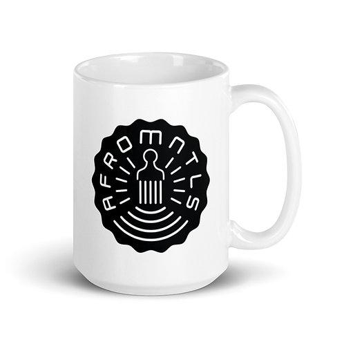 """Afromentals """"Afro Tea-zy"""" Stamp Logo Mug"""