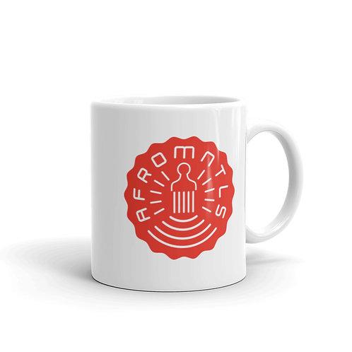 Afromentals Stamp Logo Mug