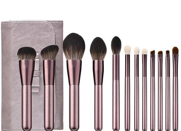 Rose Glow Eye & Face Brush Set