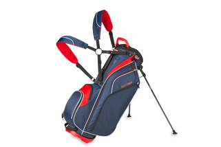A golf bag product shot on seamless for BagBoy