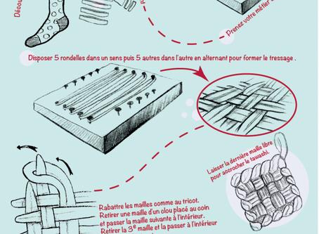 Création d'une éponge tawashi