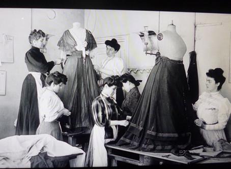 Histoire de la mode : de 1900 à 1910