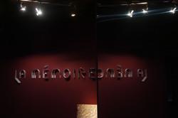 Scénographie - Musée de Grenoble
