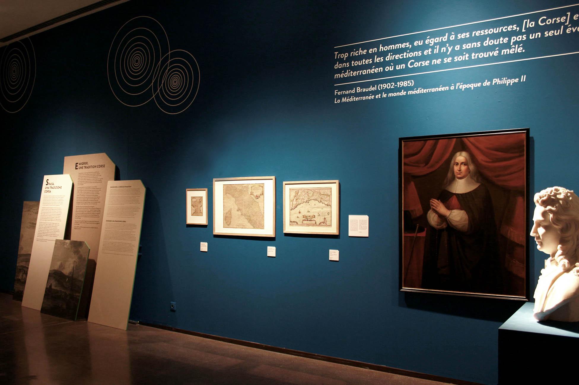 Scénographie - Musée de Bastia